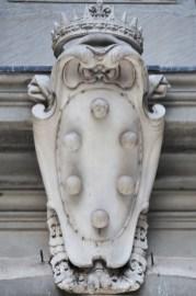 Escutcheon Medici in Florence