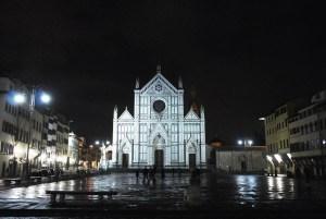 Santa Croce by night - Florence