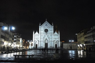 Santa Croce by night - Florence
