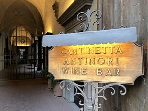 Cantinetta Antinori - Piazza degli Antinori 3 - Florence