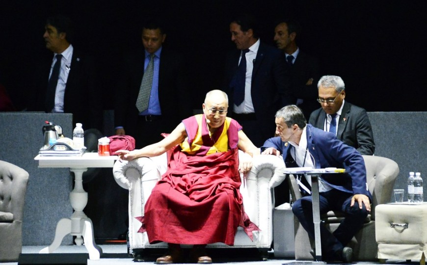 """His Holiness the XIV Dalai Lama in Florence: """"This must be the century of dialogue"""""""