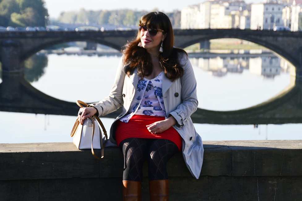 This is Georgette, our «Girl in Florence»