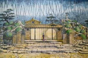 "Museo Franco Zeffirelli - ""Turandot"" sketch"