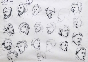 "Museo Franco Zeffirelli - ""Don Carlo"" sketch"