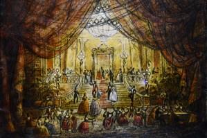 "Museo Franco Zeffirelli - ""La traviata"" sketch"