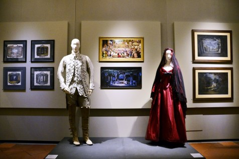 "Museo Franco Zeffirelli - ""Carmen"" costume and sketches"