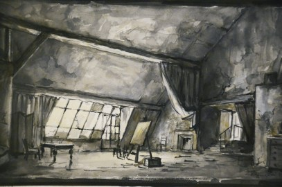 "Museo Franco Zeffirelli - ""La bohème"" sketch"