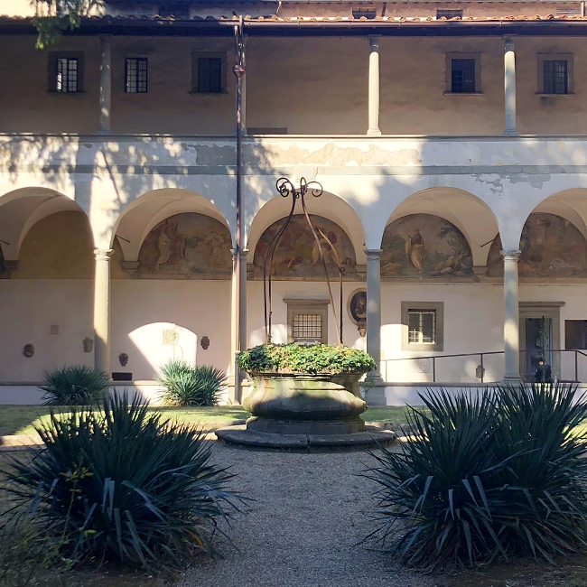 Cloisters of Florence: the great scape