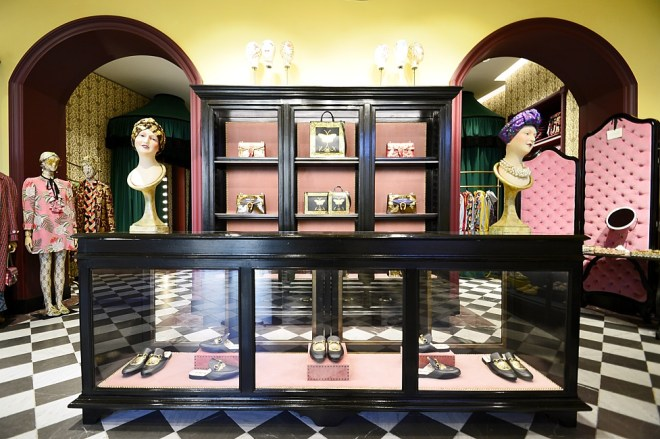Gucci Garden - Boutique