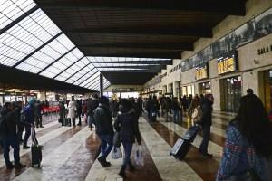 Santa Marian Novella SMN Florence train central station