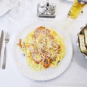 Spaghettini al Pomodoro - Fratelli Briganti - Florence