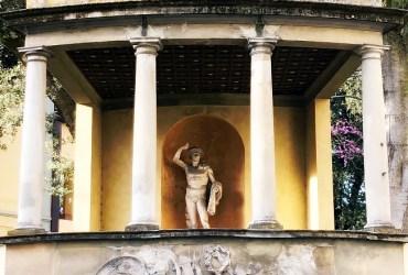 Gardens of Florence #11: giardino Corsi Annalena, first romantic garden in Florence