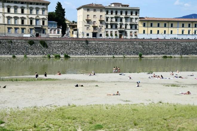 La Spiaggetta sull'Arno - Florence's beach