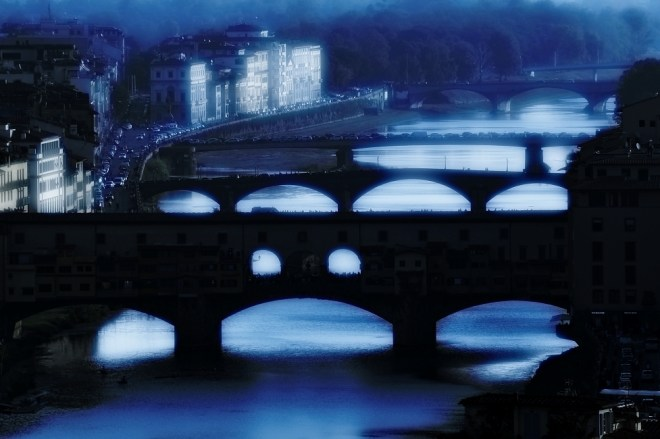 Bridges of Florence, view form Piazzale Michelangelo, Florence