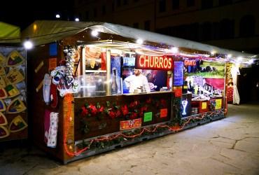Santa Croce Weihnachtsmarkt, the international Christmas market of Florence