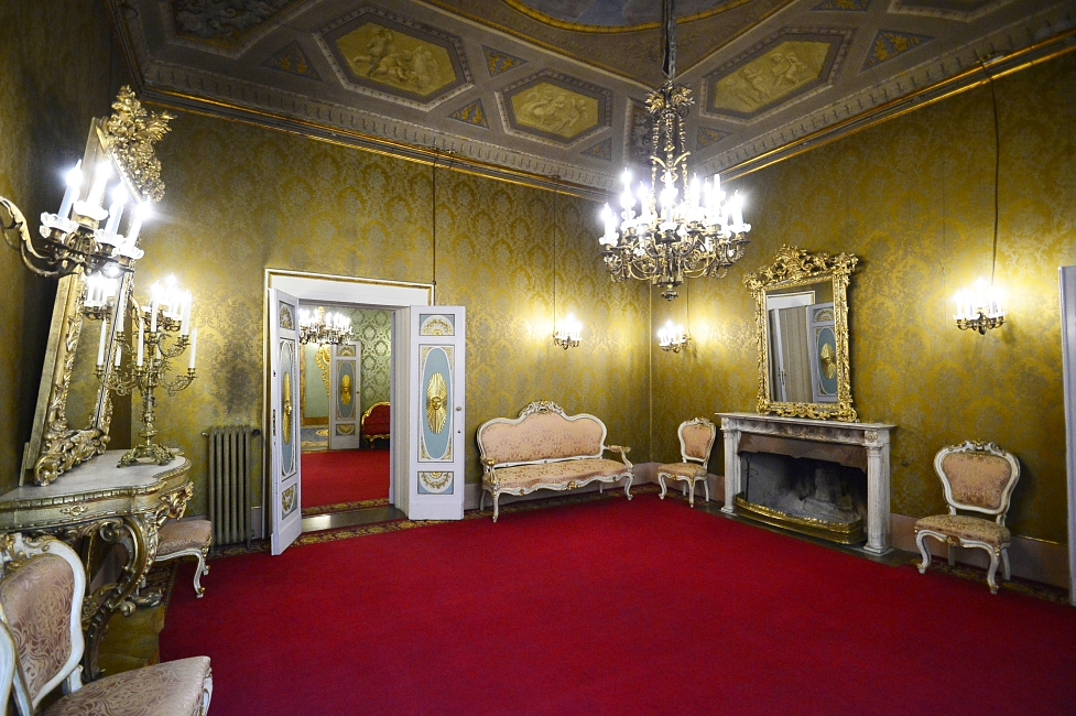 Palazzo Borghese, «maximalist» events in Florence