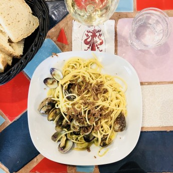 Spaghetti alle vongole - Il Giova - Florence