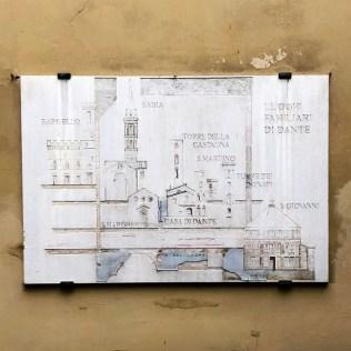Florence literary walk - Dante´s house
