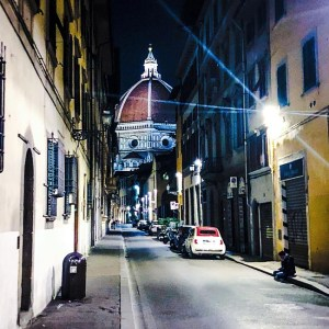 flâneur in Florence - streets of Florence