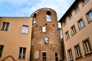 Towers of Florence - Torre della Pagliazza - piazza Sant'Elisabetta