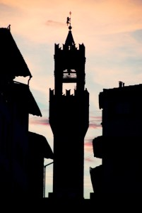 Towers of Florence - Torre di Arnolfo - Palazzo Vecchio