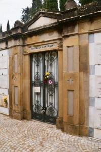 """Sante Porte cemetery, Florence - Carlo Lorenzini """"Collodi's"""" grave"""