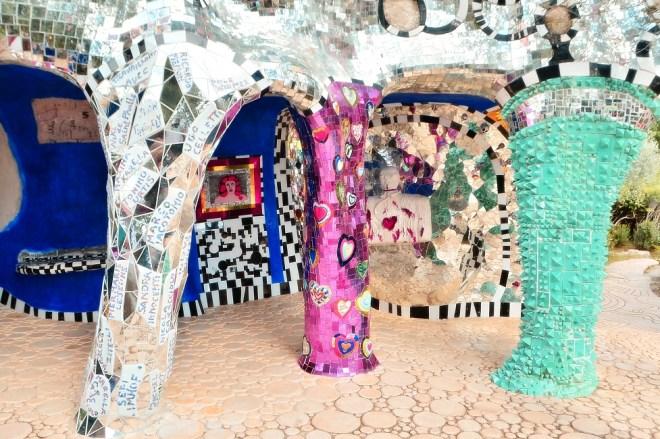 Giardino dei Tarocchi devoloped by artist Niki de Saint Phalle - Tuscany