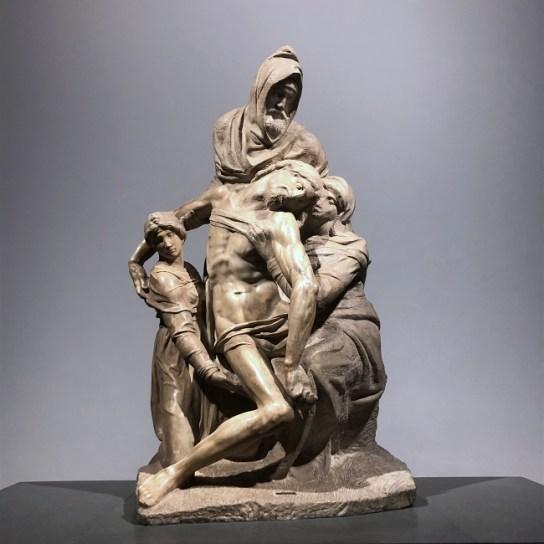 The Deposition, a pietà sculpted by Michelangelo - Museo dell'Opera del Duomo, Piazza del Duomo, 9, 50122 Florence