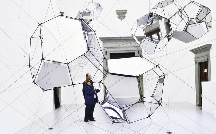 Tomás Saraceno presents 'Aria' at Palazzo Strozzi