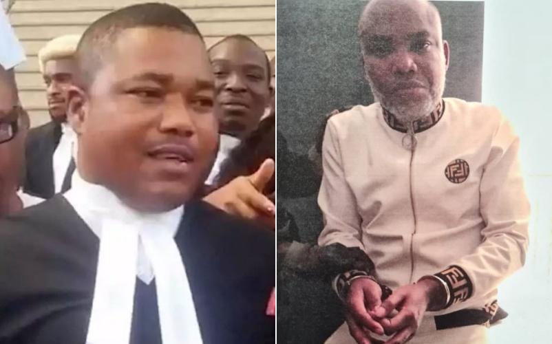 Biafra: Nnamdi Kanu will soon be released – Lawyer, Ejiofor assures
