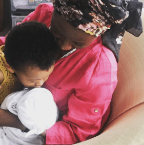 Singer, Dija announces the birth of her second child, reveals she was in labour during a photoshoot