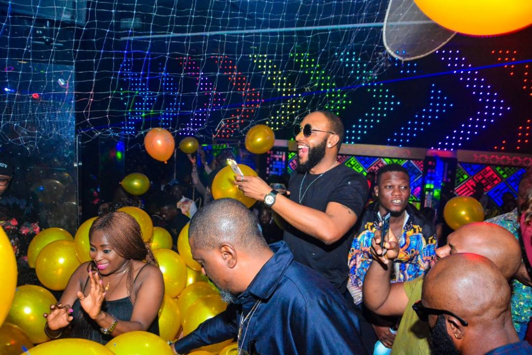 Photos: Olamide, Phyno, E-money turn up for Kcee