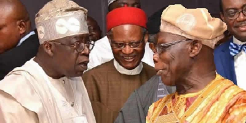 Image result for obasanjo and tinubu
