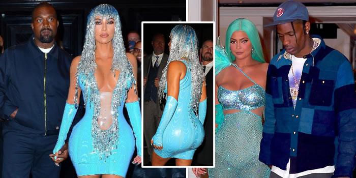 Kim Kardashian hits Met Gala after party looking like a