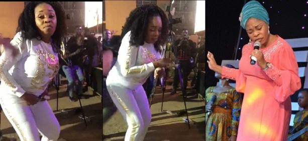 Tope Alabi dance Zanku
