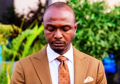 IK Osakioduwa reacts after he was accused of taking coronavirus to the AMVCA