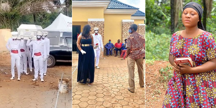 VIDEO: Actress Destiny Etikos Fathers Corpse Arrives Home For Burial