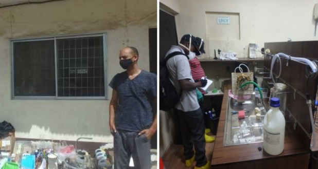 PHOTOS: NDLEA dismantles first-ever hashish oil lab in Lagos ...