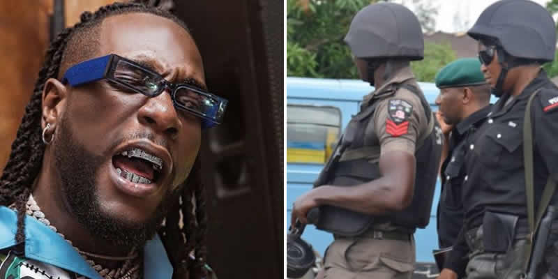 Lagos State Police PRO reacts to news of Burna Boys arrest, says viral video not recent