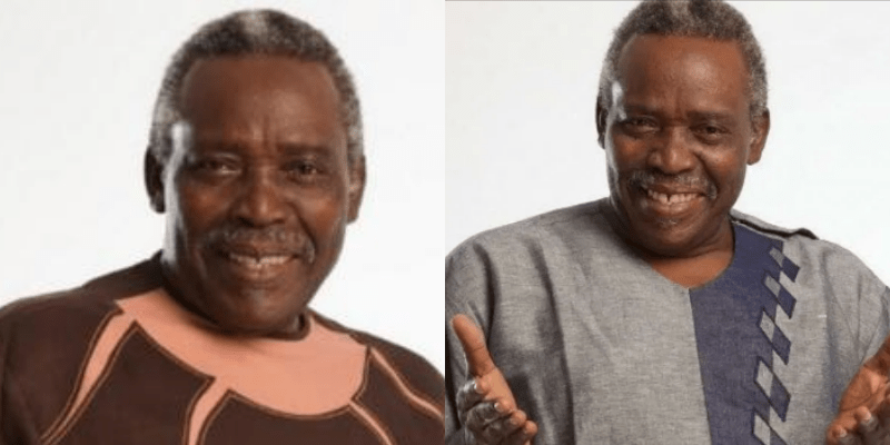 Olu Jacobs, the big shot without any scandals