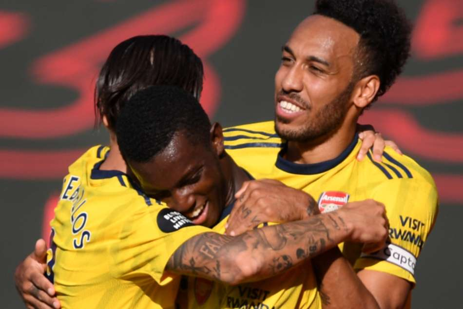 Arsenal record first win after EPL return