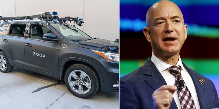 Amazon to acquire self-driving startup, Zoox