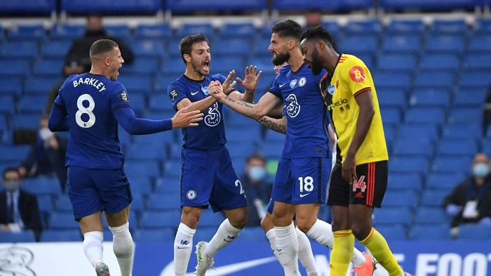 Chelsea Beat Watford 3-0