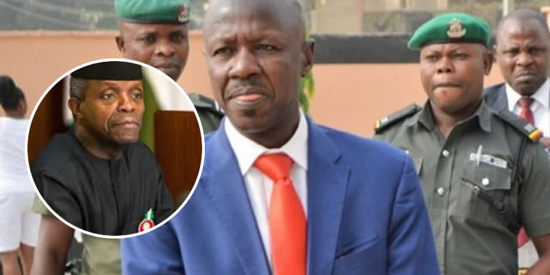 Alleged N4bn from Magu: Osinbajo writes IGP, AGF