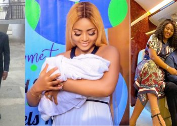 Regina Daniels father ends rift with son-in-law, Ned Nwoko