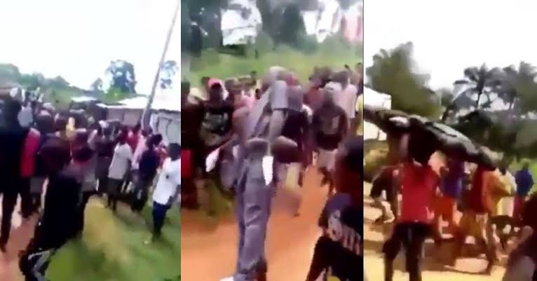VIDEO: Drama in Anambra as corpse causes several ambulances to develop fault