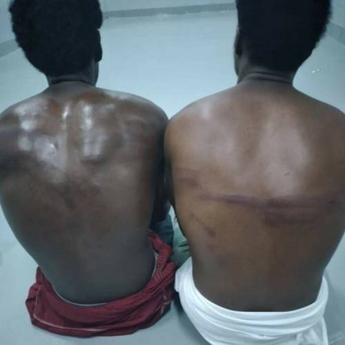 Exposed: Nigerians, other African Detention
