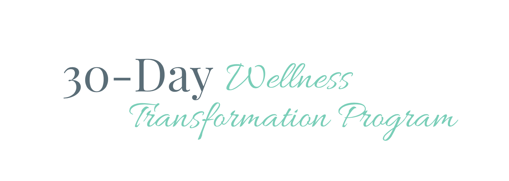 30-Day Wellness Transformation Program