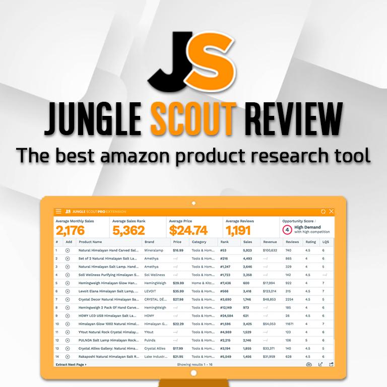 jungle scout free alternative