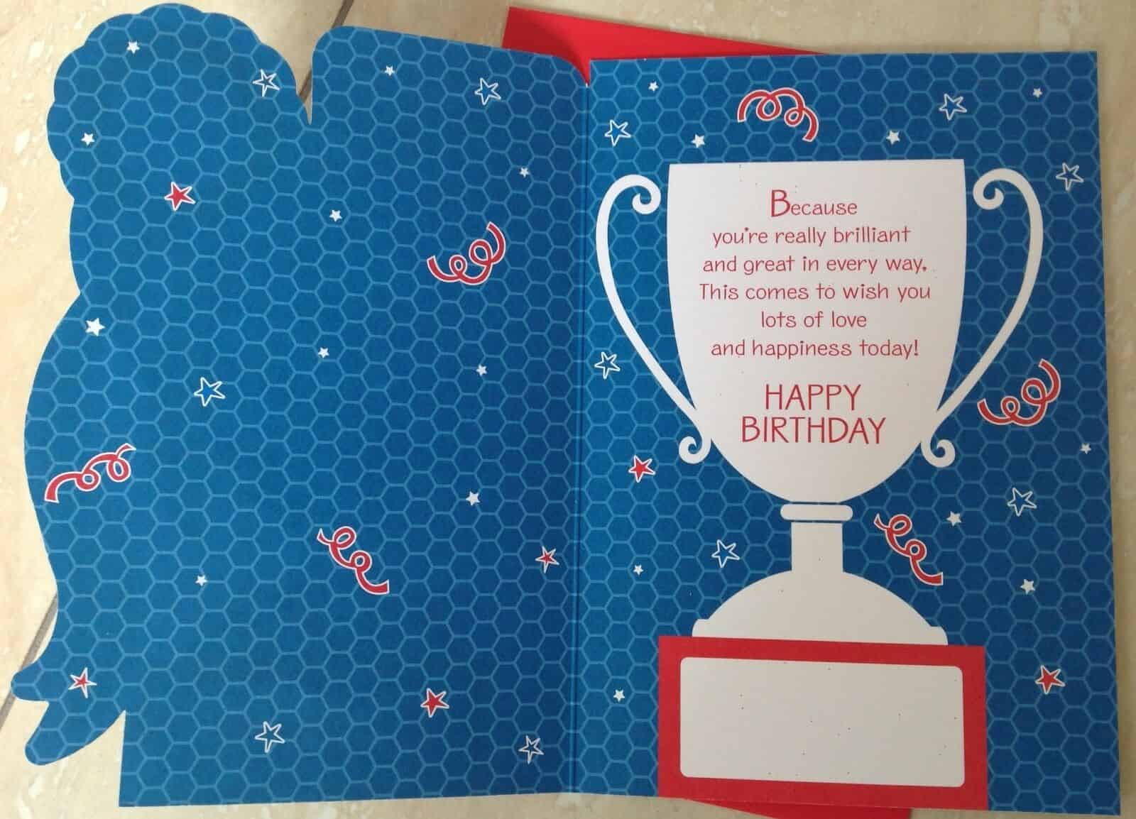 Brother Birthday Card 'To A Special Brother' With